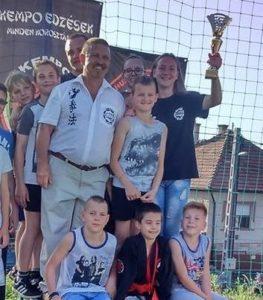 2016.06.25. Csomád, IV. Csomád Kupa, csapatverseny I. helyezés